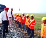 NF Railways GM R S Virdi carries out annual inspection in Rangiya Division