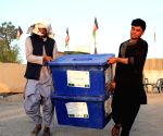 AFGHANISTAN KANDAHAR ELECTION PREPARATIONS