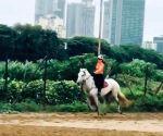 Kangana Ranaut went horseback riding on Sunday morning