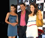Kangana Ranaut and Mugdha Godse at UTVPLay.com - Film Son Mobile launch.