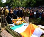 Himachal CM, Nadda attend CRPF martyr's funeral