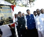 Kanhoji Angre: Gadkari lays foundation stone of Passenger Jetty