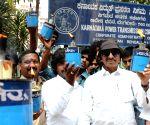 Kannada Chaluvali Vatal Paksha demonstration