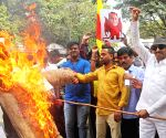 Demonstration against Goa's Water Resources Minister