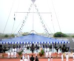 President's Colour awarded to Indian Naval Academy