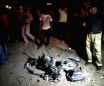 11 children were killed and 24 others injured when a blast hit a football ground in Karachi