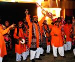 The launching ceremony of Sindh Festival in southern Pakistani port city of Karachi