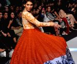 Karachi (Pakistan): The three-day Pakistan Fashion Week displayed works of 21 designers