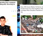 Karan Johar film line producer alleges North Goa lacks waste disposal management