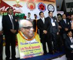Karate Association of India pays tribute to Karunanidhi