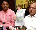 B S Yeddyurappa's press conference