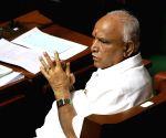 Yeddyurappa in Karnataka Assembly