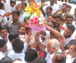 : (270217) Bengaluru: Yeddyurappa's birthday celebration