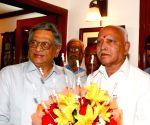 Yeddyurappa meets SM Krishna