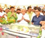 Chikkamagaluru (Karnataka): VG Siddhartha funeral - BS Yeddyurappa