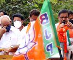 BS Yediyurappa campaigns for BJP's Rajarajeshwari Nagar bypoll candidate