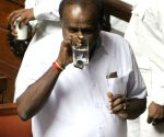 Kumaraswamy at Vidhan Soudha