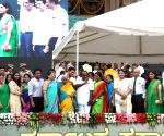 Kumaraswamy's swearing-in ceremony