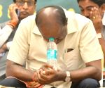 HD Devegowda during JD-S programme