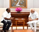 Karnataka CM meets PM Modi