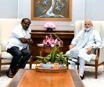 Karnataka CM calls on PM Modi