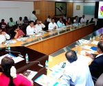 Review meeting - HD Kumaraswamy