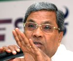 Siddaramaiah's press conference