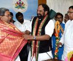 Nallamada Uttam Kumar Reddy meets Siddaramaiah