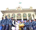 Karnataka CM interact with the students