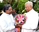 Karnataka Governor Vajubhai Rudabhai Vala's swearing in ceremony