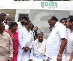 Karnataka CM inspects development works