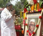 Karnataka CM Siddaramaiah pays tribute to Babu Jagjivan Ram