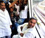 Siddaramaiah inspects Bangalore Metro