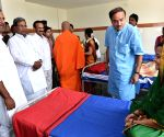 Siddaramaiah,Sadananda Gowda,Ananth Kumar Kalabhairaveshwara Ayurvedic Medical Hospital