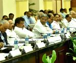 All party meeting on cauvery water issue - Siddharamaiah, Ananth Kumar, DV Sadananda Gowda