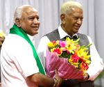 B. S. Yediyurappa takes oath as Karnataka CM