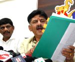 D.K. Shivakumar's press conference