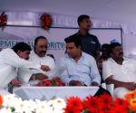 KT Rama Rao lays foundation for Balanagar flyover