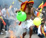 Demonstration against Mahadayii Kalasa Bandoori water projects