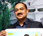 Karnataka's Chief Electoral Officer launches election posters