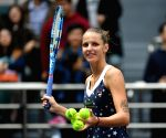 Spanish coach an advantage against Muguruza, says Pliskova