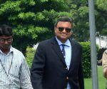 Karti Chidambaram appears before CBI in graft case