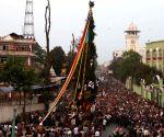 NEPAL-KATHMANDU-SETO MACHHENDRANATH CHARIOT FESTIVAL