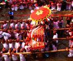 NEPAL KATHMANDU BISKET JATRA FESTIVAL CELEBRATION