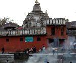 NEPAL KATHMANDU EARTHQUAKE FUNERAL