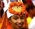 NEPAL KATHMANDU GAIJATRA FESTIVAL