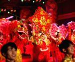 NEPAL-KATHMANDU-CHINESE LUNAR NEW YEAR-GALA