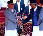 NEPAL KATHMANDU PRIME MINISTER OATH CEREMONY