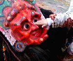NEPAL KATHMANDU NAVADURGA DANCE