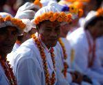 NEPAL KATHMANDU FESTIVAL NEWAR COMMUNITY